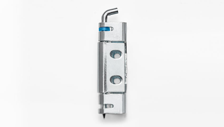 With our concealed hinge with securing clip, we offer the solution