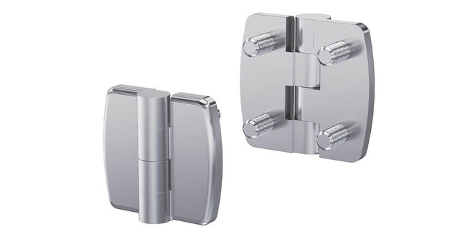 New product - Hinge Pr01 with Stud 180° Stainless Steel